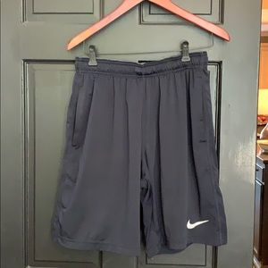 Nike Dri-fit Navy basketball athletic shorts M +